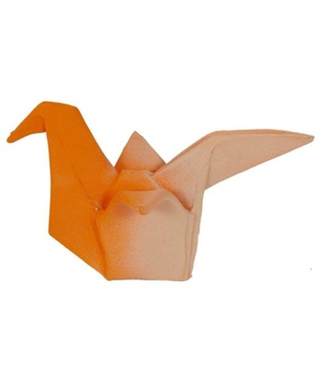 Martin sellier latex origami duif pastel oranje