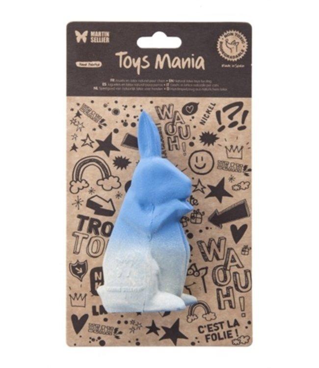 Martin sellier latex origami konijn blauw