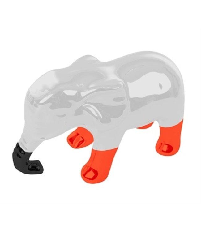 Martin sellier latex olifant oranje / grijs