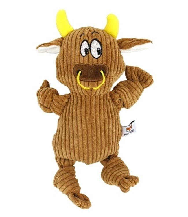 Fofos fluffy koe bruin