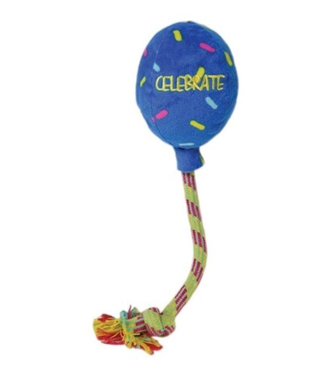 Kong occasions birthday balloon blauw