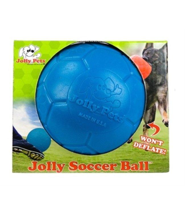 Jolly soccer ball blauw