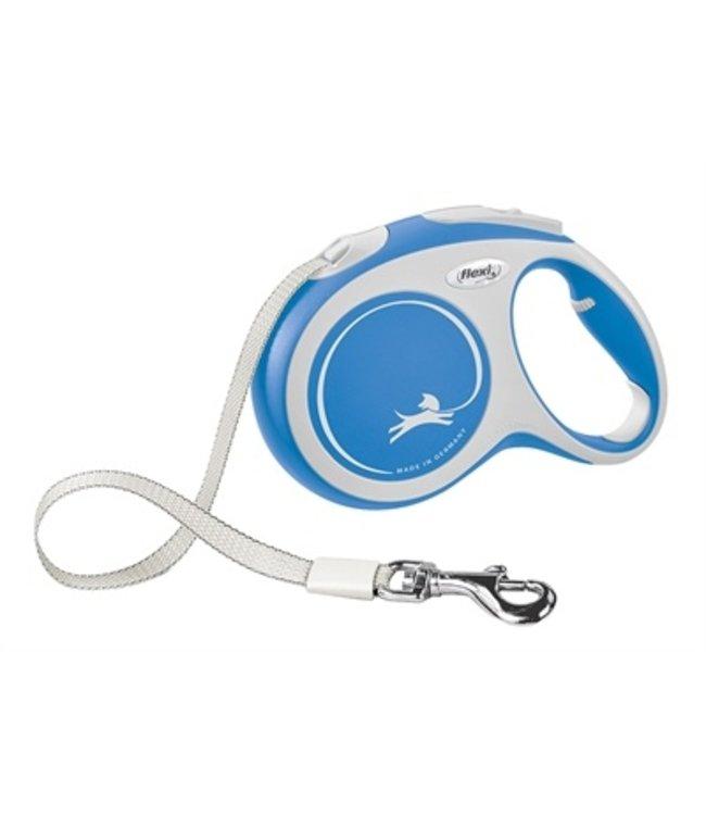 Flexi rollijn new comfort tape blauw