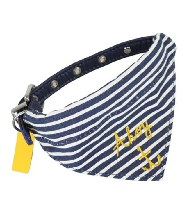 Joules halsband hond coastal nautical met halsdoek