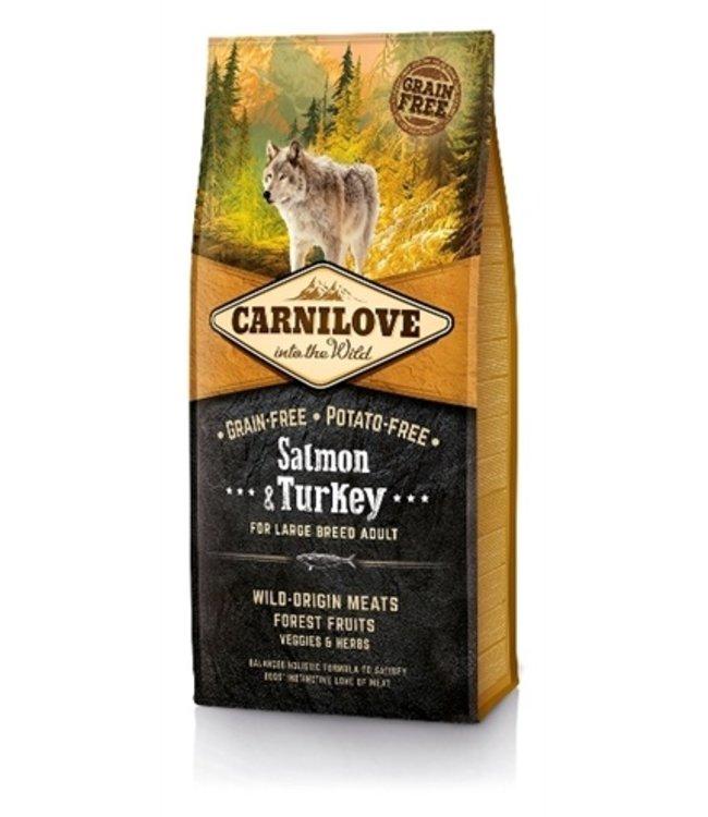 Carnilove salmon / turkey adult large breed