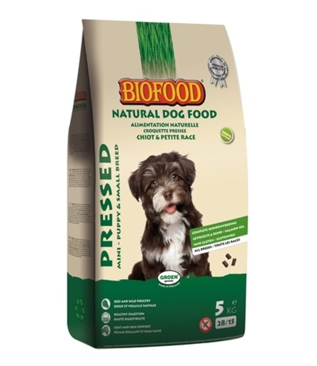 Biofood geperst puppy en kleine rassen
