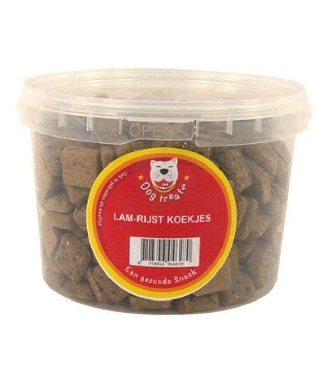 Dog treatz lam / rijst koekjes