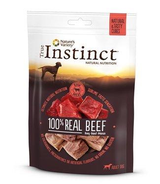 True instinct True instinct tasty cubes 100% beef