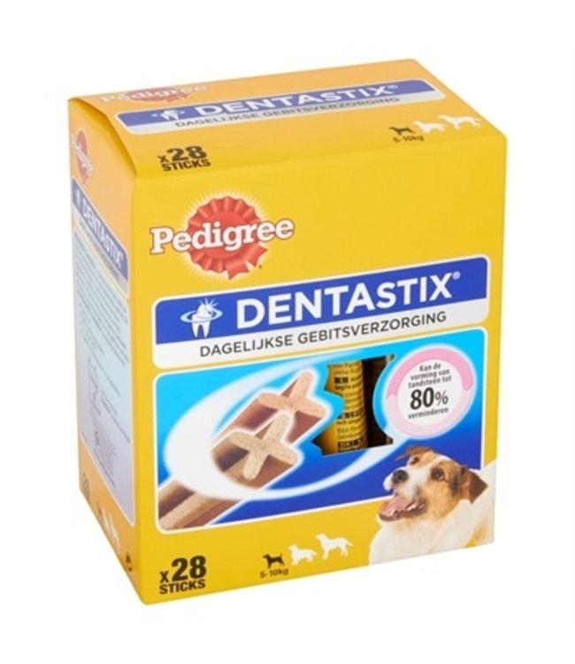 4x pedigree dentastix multipack mini