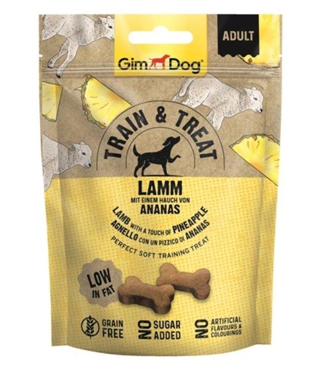 Gimdog train & treat lam / ananas