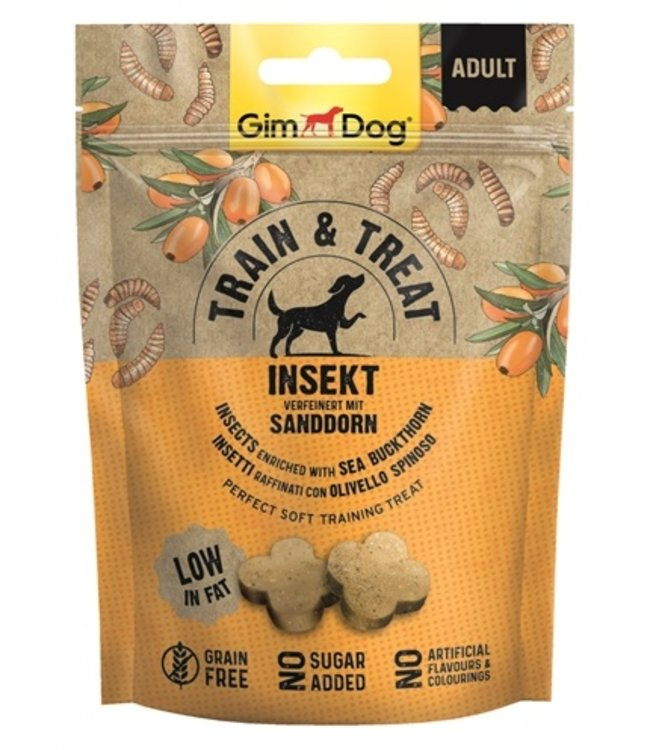 Gimdog train & treat insecten / duindoorn