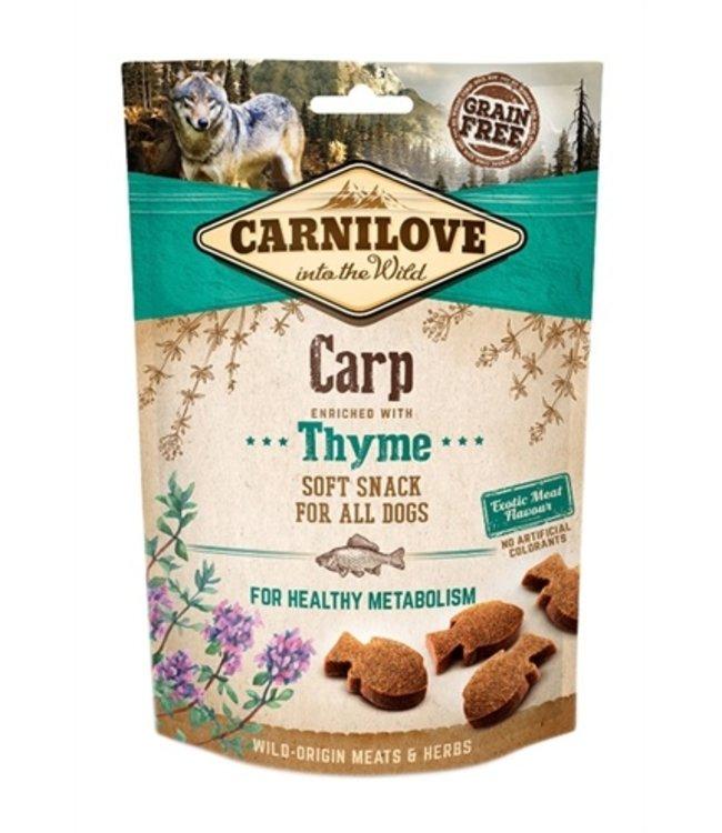 Carnilove soft snack karper / tijm