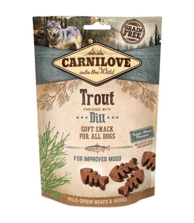 Carnilove soft snack forel / dille