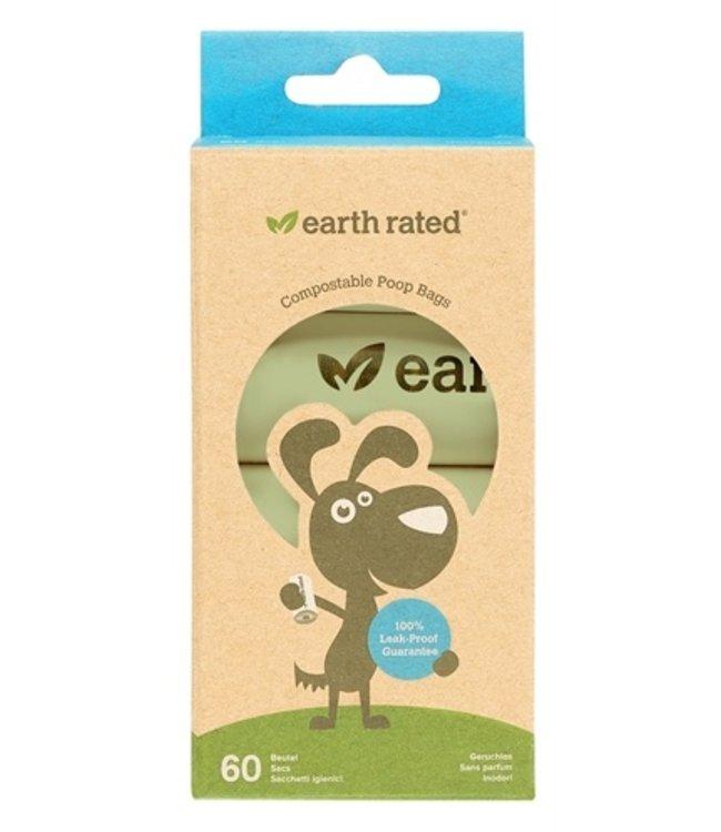 Earth rated poepzak geurloos composteerbaar