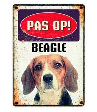 Plenty gifts Plenty gifts waakbord blik beagle