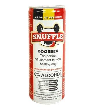 Snuffle Snuffle hondenbier rundsmaak in blik