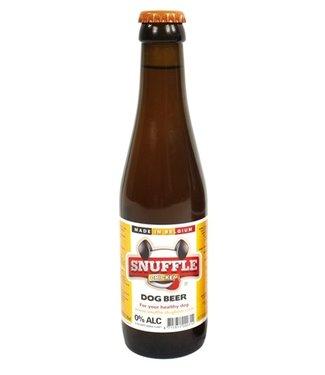 Snuffle Snuffle hondenbier kipsmaak in glazen fles
