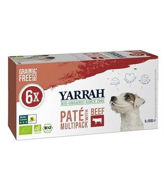 Yarrah Yarrah dog alu pate multipack beef / chicken