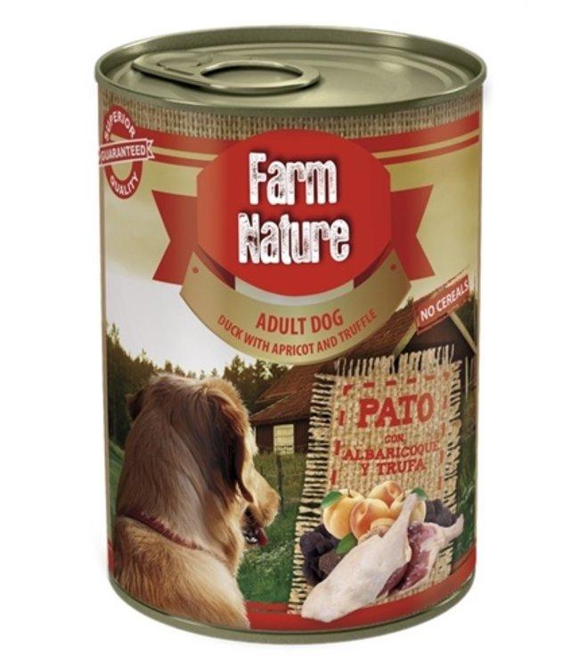 Farm nature duck / apricot / truffle