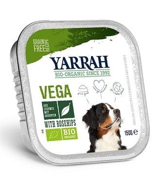 Yarrah Yarrah dog alu brokjes vega met rozenbottels