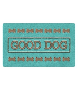 Tarhong Tarhong placemat good dog turquoise