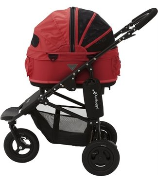 Airbuggy Airbuggy hondenbuggy dome2 sm met rem tango rood