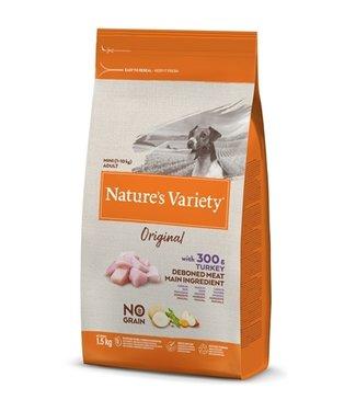 Natures variety Natures variety original adult mini turkey no grain
