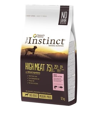 True instinct True instinct high meat medium adult salmon / tuna