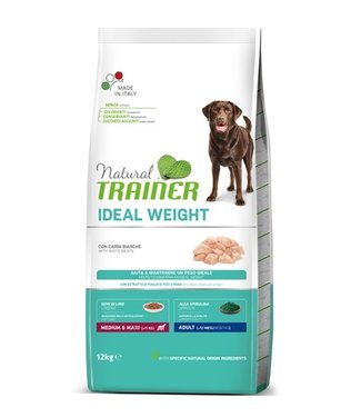 Natural trainer Natural trainer ideal weight adult medium / maxi white meat