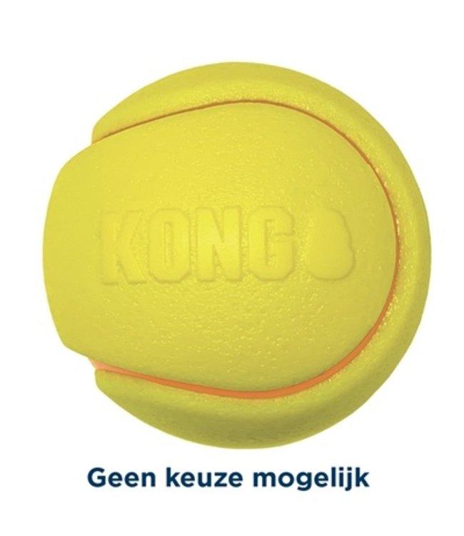 Kong squeezz tpr tennisbal geel assorti