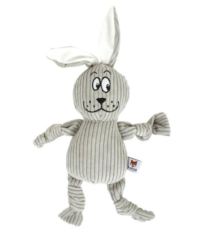 Fofos fluffy konijn grijs