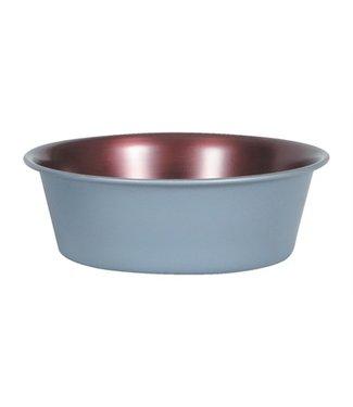 Zolux Zolux voerbak / drinkbak copper nonslip koperkleur / antraciet
