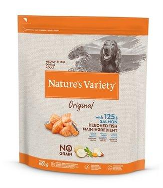 Natures variety Natures variety original adult medium / maxi salmon no grain