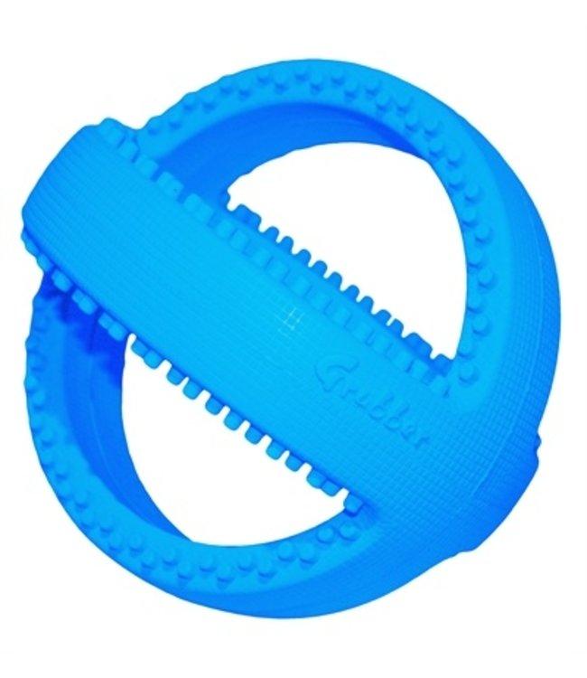Happy pet grubber interactieve voetbal blauw