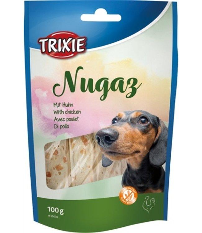 Trixie nugaz noga hondensnack runderhuid met kip