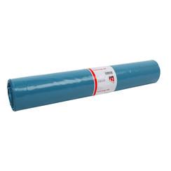Afvalzak Quantore LDPE T50 160L blauw extra stevig 20 stuks