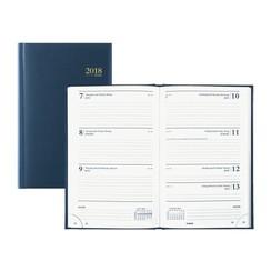 Agenda 2021 Brepols Saturnus kort 7dag/2pagina's blauw