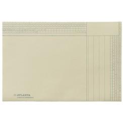 Binnenmap jalema folio 2 kleps 180gr ivoor