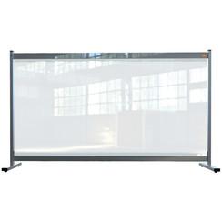 Bureauscherm Nobo doorzichtig PVC 1470x860mm