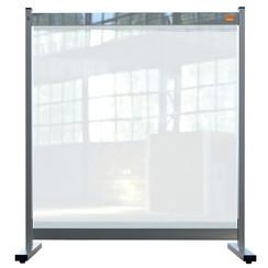 Bureauscherm Nobo doorzichtig PVC 770x860mm