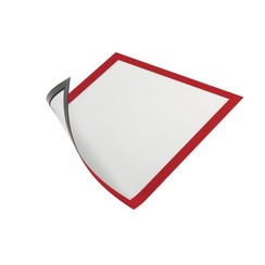 Duraframe Durable 486903 magnetisch A4 rood