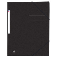 Elastomap Oxford Top File+ A4 zwart