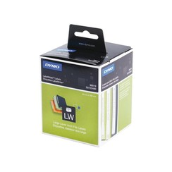 Etiket Dymo 99019 labelwriter 59x190mm ordner breed 110stuk