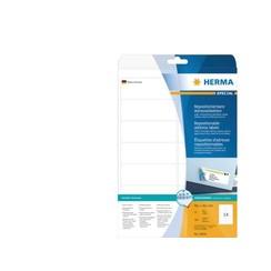 Etiket Herma 10016 99.1x38.1mm verwijderbaar wit 350stuks