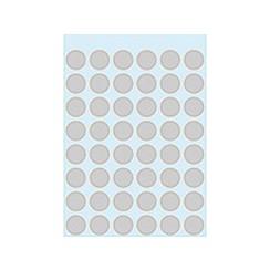 Etiket Herma 1858 rond 13mm grijs 240stuks