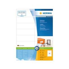 Etiket Herma 4427 105x35mm premium wit 1600stuks