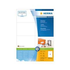 Etiket Herma 4470 105x74mm premium wit 800stuks