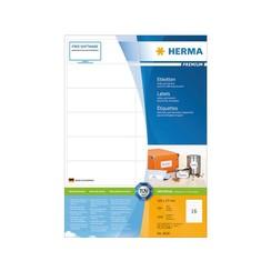 Etiket Herma 4620 105x37mm premium wit 3200stuks