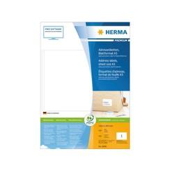 Etiket Herma 8690 148.5x205mm premium wit 400stuks