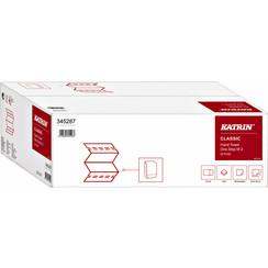 Handdoek Katrin One-Stp M2 345287 2laags 25.5x20cm 21x160st